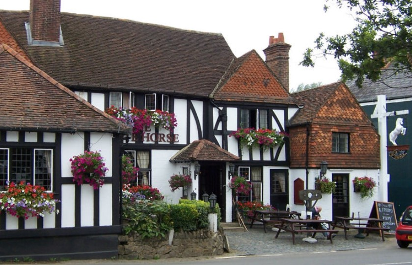 The White Horse, a Romantic Classic Pub in Surrey